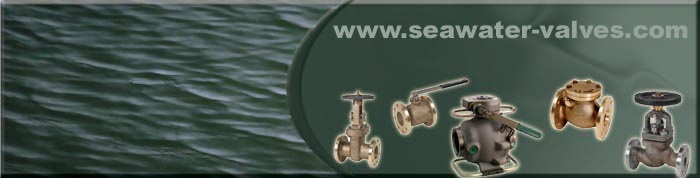 aluminium bronze check valves used in marine applications for seawater media